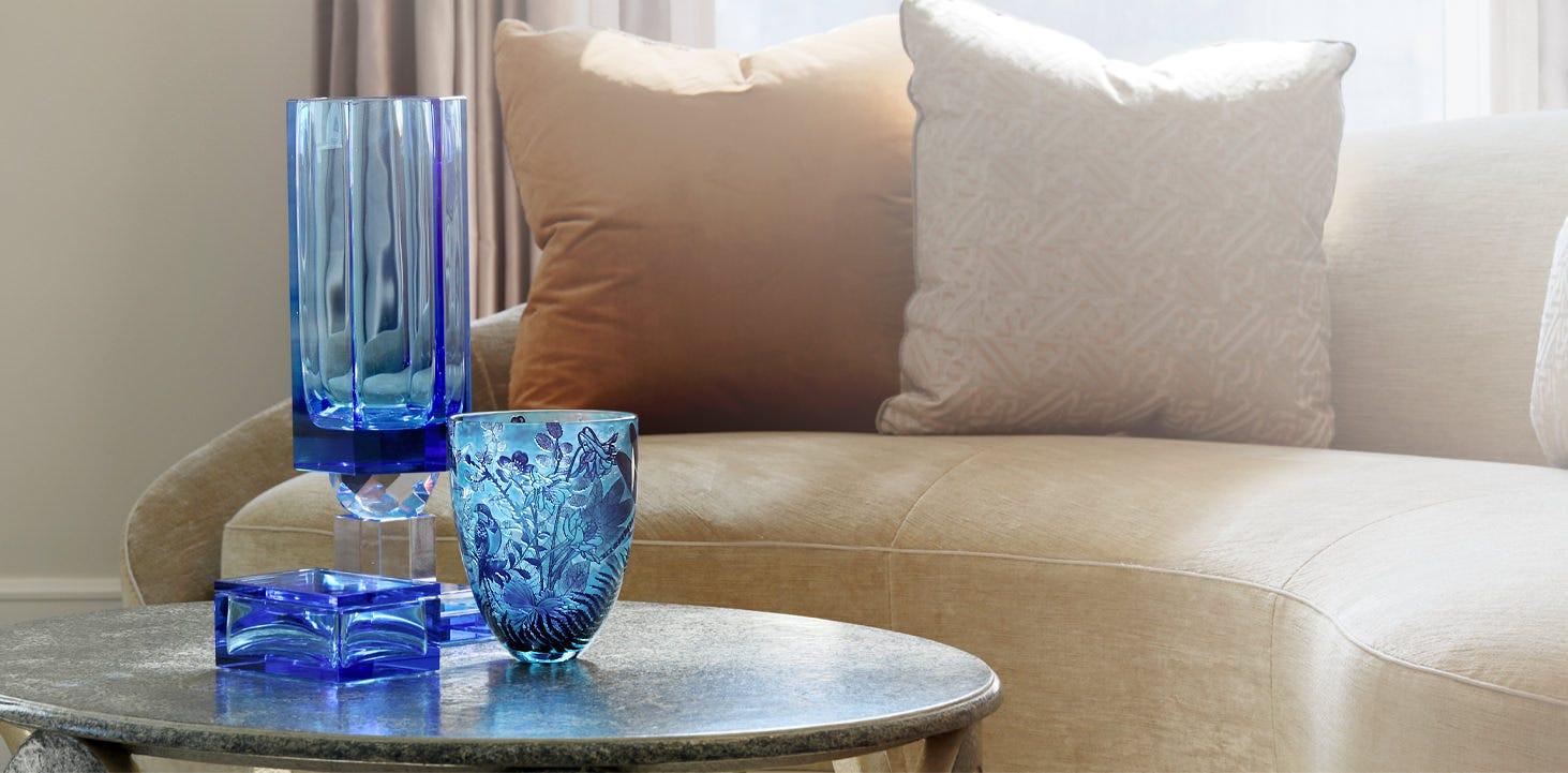 Asprey home decor on a table